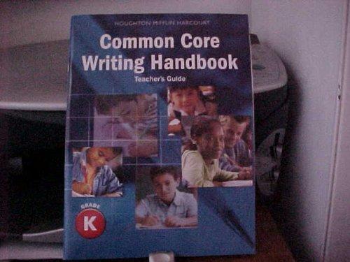 9780547865966: Journeys: Writing Handbook Teacher's Guide Grade K