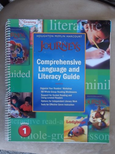 9780547866468: Journeys: Literacy and Language Guide Grade 1
