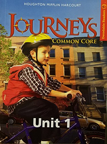 9780547866864: Journeys Common Core Decodable Reader Unit 1 Grade 1