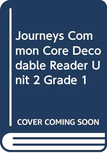 9780547866895: Journeys: Decodable Reader Unit 2 Grade 1