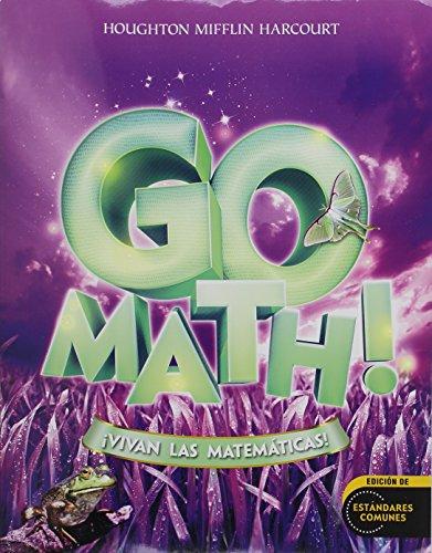 9780547867137: Go Math!: !Vivan Las Matematicas! [With Cuaderno de Practica de Los Estandares] (Houghton Mifflin Harcourt Go Math! Spanish)