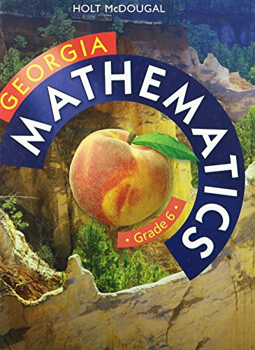 9780547867670: Holt McDougal Mathematics Georgia: Common Core GPS Student Edition Grade 6 2014