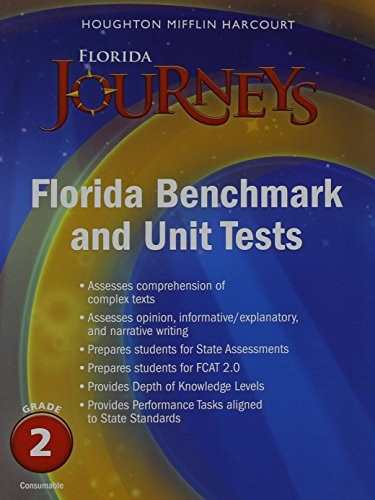 9780547869322: Houghton Mifflin Harcourt Journeys Florida: Common Core Benchmark and Unit Tests Consumable Grade 2