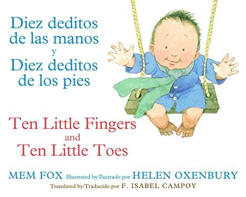 9780547870069: Diez deditos de las manos y Diez deditos de los pies / Ten Little Fingers and Ten Little Toes bilingual board book (Spanish and English Edition)