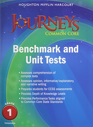 9780547871585: Journeys: Benchmark Tests and Unit Tests Consumable Grade 1 Grade 1