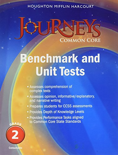 9780547871592: Journeys: Benchmark Tests and Unit Tests Consumable Grade 2 Grade 2