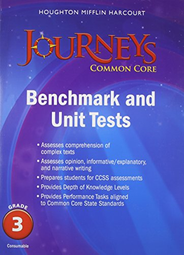 Journeys Common Core Benchmark Tests And Unit Tests border=