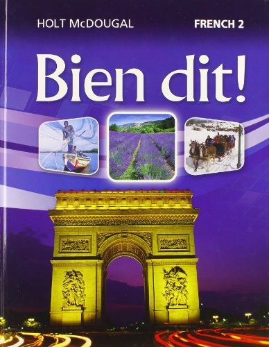9780547871677: Bien dit!: Student Edition Level 2 2013 (French Edition)