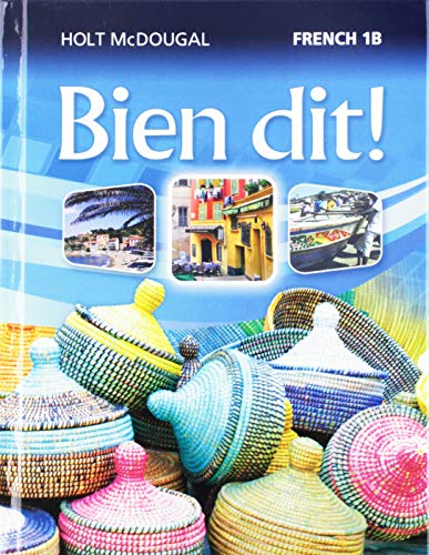9780547871684: Bien dit!: Student Edition Level 1B 2013 (French Edition)