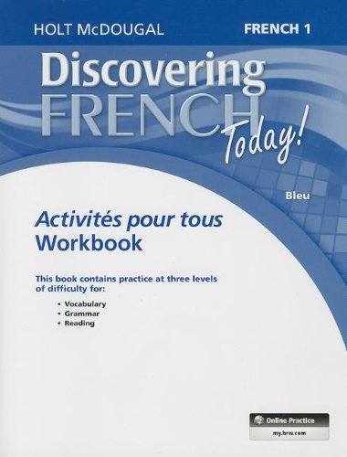 9780547871776: Discovering French Today: Activités pour tous Level 1 (French Edition)