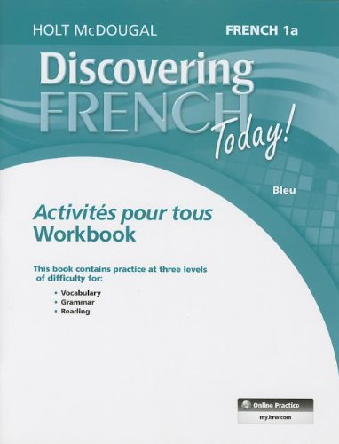9780547871820: Discovering French Today: Activités pour tous Level 1A (French Edition)