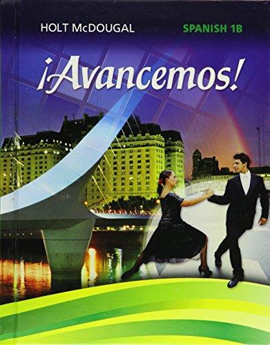 9780547871905: ¡Avancemos!: Student Edition Level 1B 2013 (Spanish Edition)