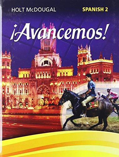 9780547871936: ¡avancemos!: Student Edition Level 2 2013 (Spanish Edition)