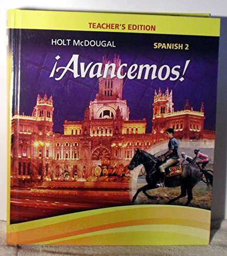 9780547871967: ¡Avancemos!: Teacher Edition Level 2 2013 (Spanish Edition)
