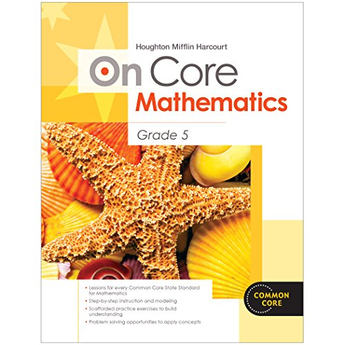 9780547872421: Houghton Mifflin Harcourt On Core Mathematics: Reseller Package Grade 5