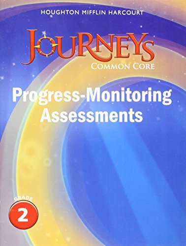 9780547874272: Journeys: Common Core Progress Monitoring Assessments Grade 2