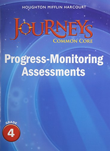 9780547874296: Journeys: Common Core Progress Monitoring Assessments Grade 4