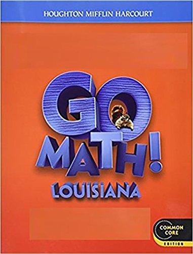 9780547875194: Houghton Mifflin Harcourt Go Math! Louisiana: Student Edition Practice Book Grade 1