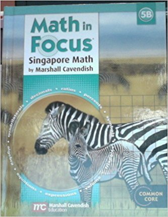 9780547875347: Math in Focus: Singapore Math: Student Edition, Book B Grade 5 2013