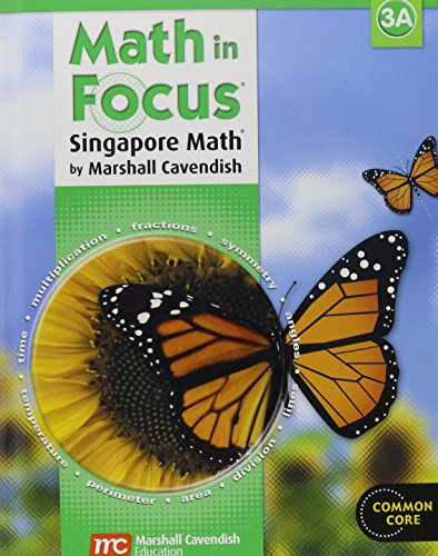 9780547875842: Math in Focus: Singapore Math: Student Edition, Book A Grade 3 2013