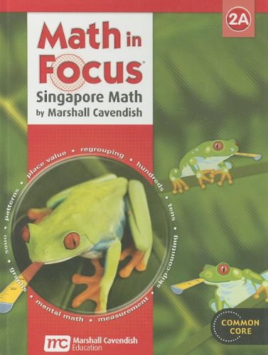 9780547875934: Math in Focus: Singapore Math: Student Edition Grade 2 Book A 2013