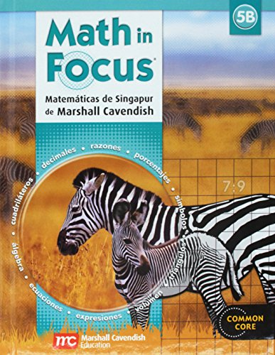 9780547875941: Math in Focus: Singapore Math, Spanish: Student Edition Grade 5 Book B 2013