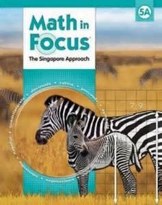 9780547876146: Math in Focus: Singapore Math, 5A Student Edition