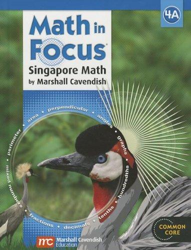 9780547876344: Math in Focus: Singapore Math: Student Edition, Book A Grade 4 2013