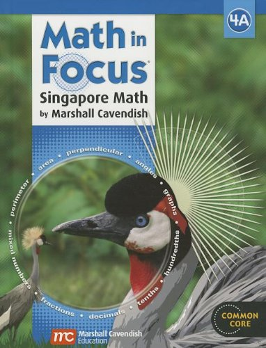 9780547876344: Math in Focus: Singapore Math: Student Edition, Book A Grade 4 2013