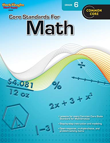9780547878256: Core Standards for Math: Reproducible Grade 6