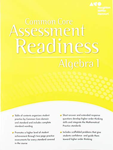 9780547881263: Hmh Algebra 1: Exploration in Core Math: Student Assessment Readiness Workbook