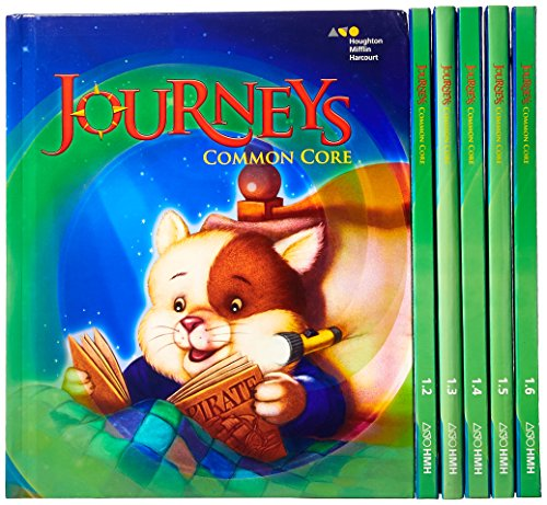 9780547885001: Journeys: Common Core Student Edition Set Grade 1 2014