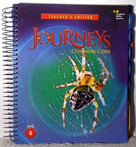 9780547886954: Houghton Mifflin Harcourt Journeys Tennessee: Teacher's Edition Volume 6 Grade 4 2014