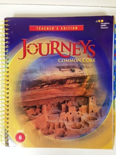 9780547887012: Houghton Mifflin Harcourt Journeys Tennessee: Teacher's Edition Volume 6 Grade 5 2014