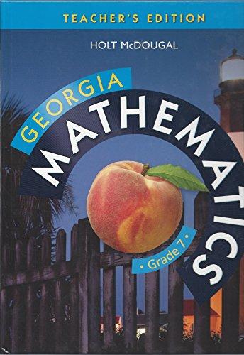 9780547889511: Holt McDougal Mathematics Georgia: Common Core GPS Teacher Edition Grade 7 2014