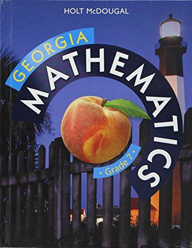 9780547889955: Holt McDougal Mathematics Georgia: Common Core GPS Student Edition Grade 7 2014