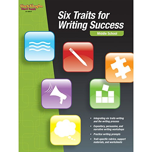 9780547893563: Six Traits for Writing Success: Reproducible Middle School