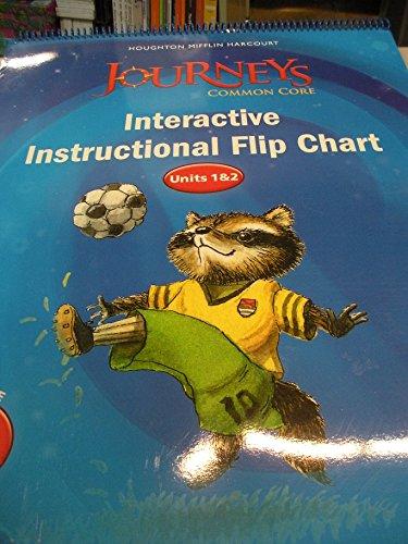 9780547894911: Houghton Mifflin Harcourt Journeys: Common Core Instructional Flip Chart Chart A Grade K