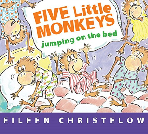 9780547896915: Five Little Monkeys Jumping on the Bed