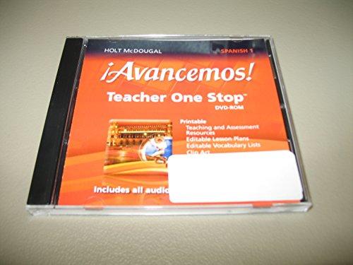 9780547897042: ?Avancemos!: Teacher One Stop Planner DVD-ROM Level 1 2013 (Spanish Edition)