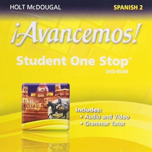 9780547897172: ¡Avancemos!: Student One Stop DVD-ROM Level 2 2013 (Spanish Edition)
