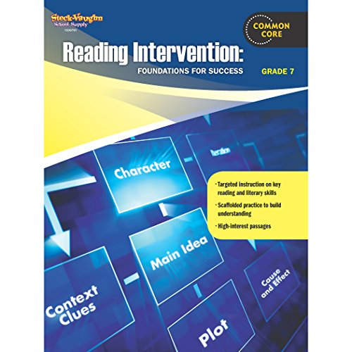 9780547898261: Reading Intervention: Foundations for Success: Reproducible Grade 7