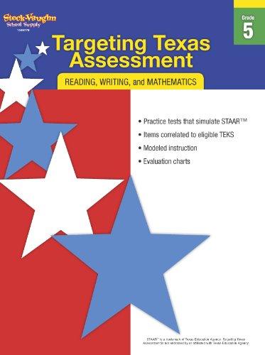 9780547898445: Targeting Texas Assessment: Reproducible Grade 5