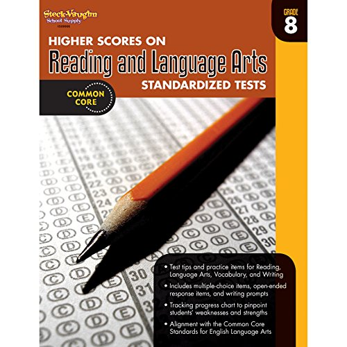9780547898476: Higher Scores on Standardized Test for Reading & Language Arts: Reproducible Grade 8 (Steck-Vaughn Higher Scores on Reading Standardized Tests)