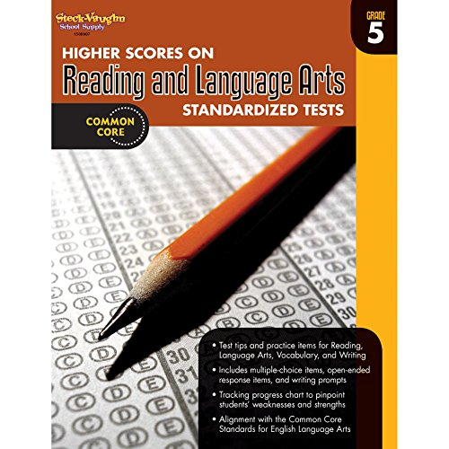 9780547898483: Higher Scores on Standardized Test for Reading & Language Arts: Reproducible Grade 5