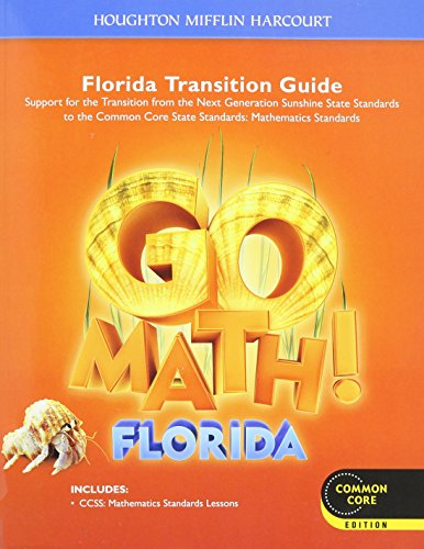 9780547906102: Houghton Mifflin Harcourt Go Math! Florida: Student Transition Guide Grade 2 2013