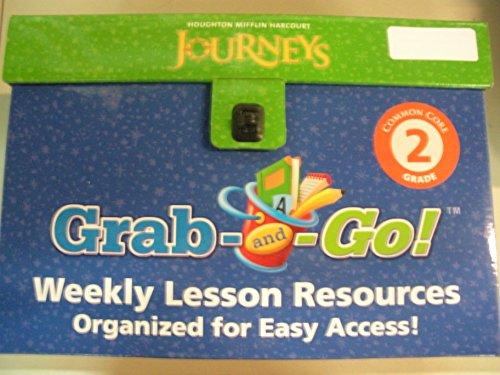 Journeys: Grab and Go Complete Set Grade 2: HARCOURT, HOUGHTON MIFFLIN