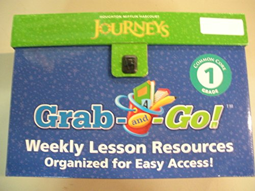 Journeys: Grab and Go Complete Set Grade 1: HARCOURT, HOUGHTON MIFFLIN