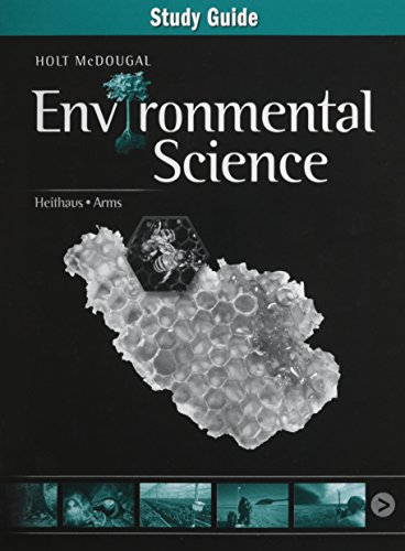 9780547908892: Holt McDougal Environmental Science: Study Guide Concept Review
