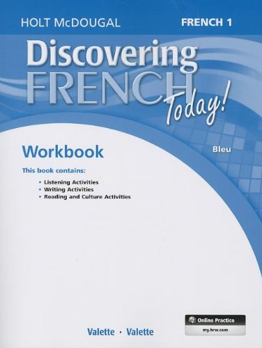 9780547914145: Discovering French Today: Student Edition Workbook Level 1 (French Edition)